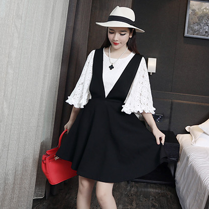 "Fashion sweet black strap dress Cute Kawaii Harajuku Fashion Clothing & Accessories Website. Sponsorship Review & Affiliate Program opening!perfect design.cannot wait to try use this coupon code ""cute8"" to get all 10% off shop now for lowest price."