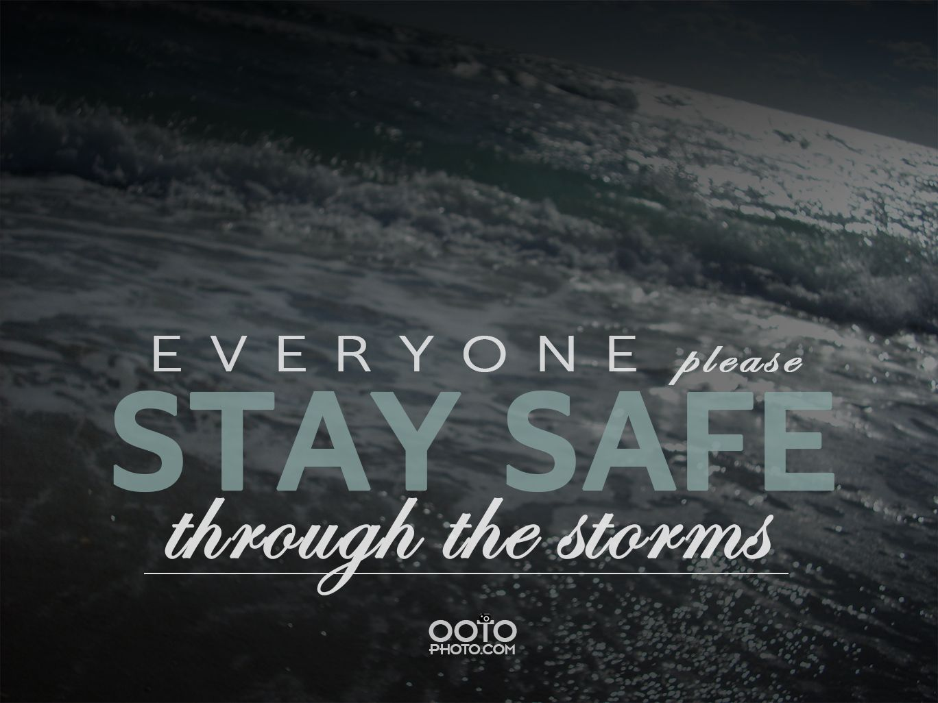 Out Of The Ordinary Photography Stay Safe Storm Business Promo Photography