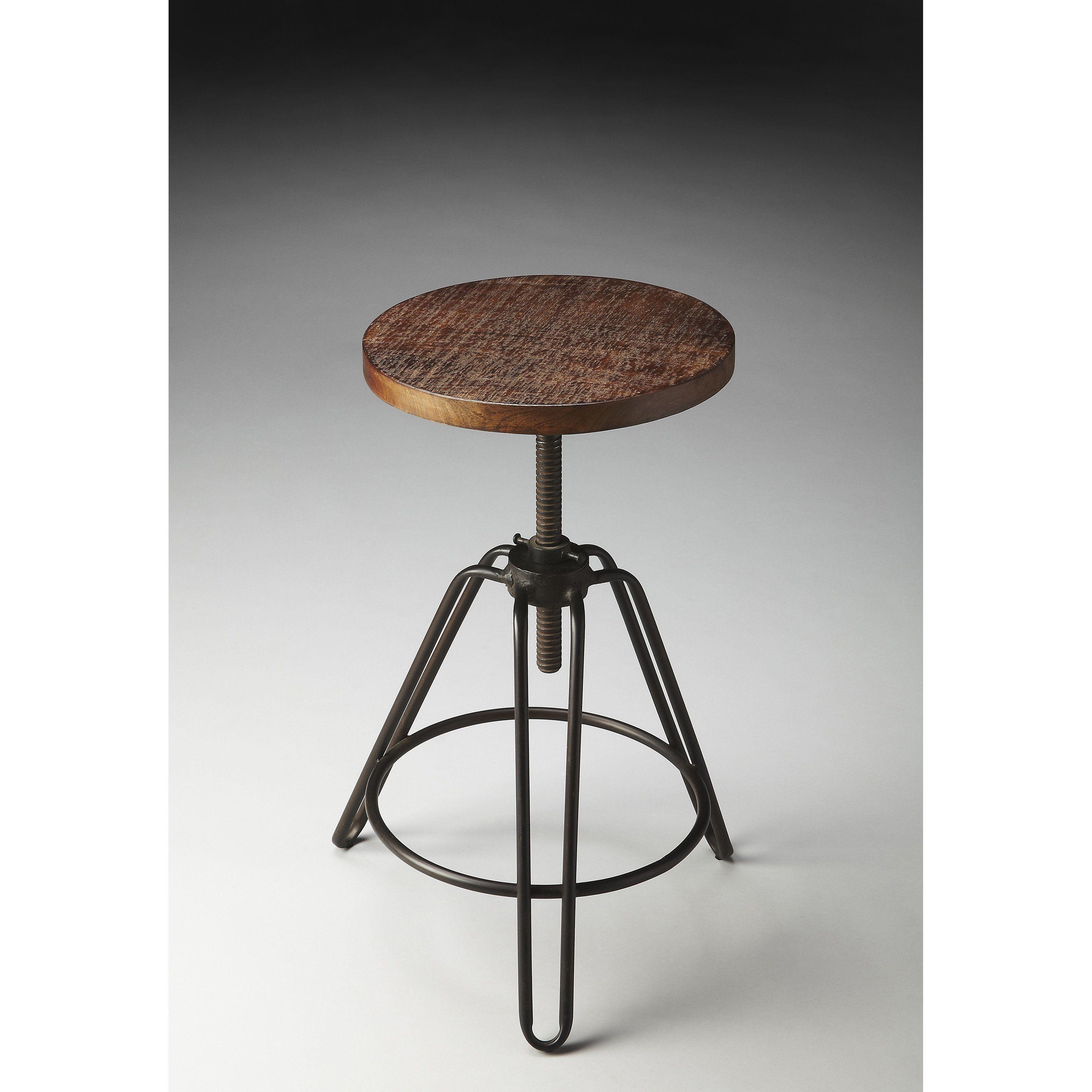 Peachy Butler Industrial Revolving 30 In Bar Stool 2050025 Machost Co Dining Chair Design Ideas Machostcouk