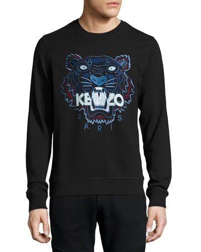 Kenzo · KENZO Iconic Tiger Sweatshirt, Black.