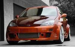 Ford Focus Zx3 With Some Wide Fender Flares Looks Nice And Is