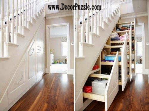 Innovative under stairs storage ideas and solutions under stairs