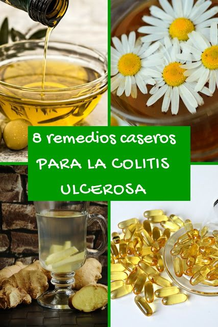 Remedios para la colitis ulcerosa cronica