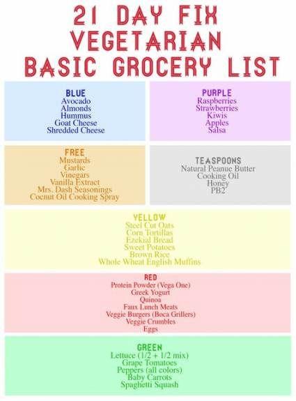 Fitness Meals Vegetarian 21 Day Fix 18+ Ideas #fitness