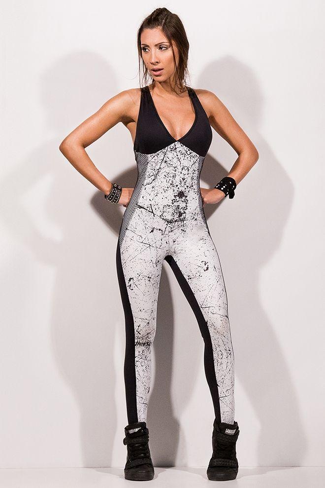 897b993b4 Produto - Macacao Marble Ice Labellamafia Fma80125 - Fit You Fashion Fitness  - Loja de Roupas