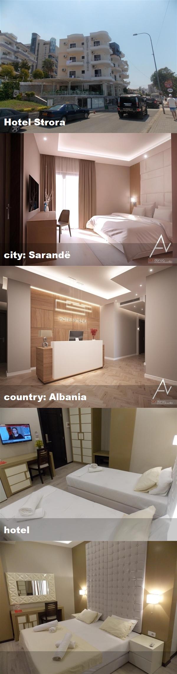 Hotel Strora, city Sarandë, country Albania, hotel