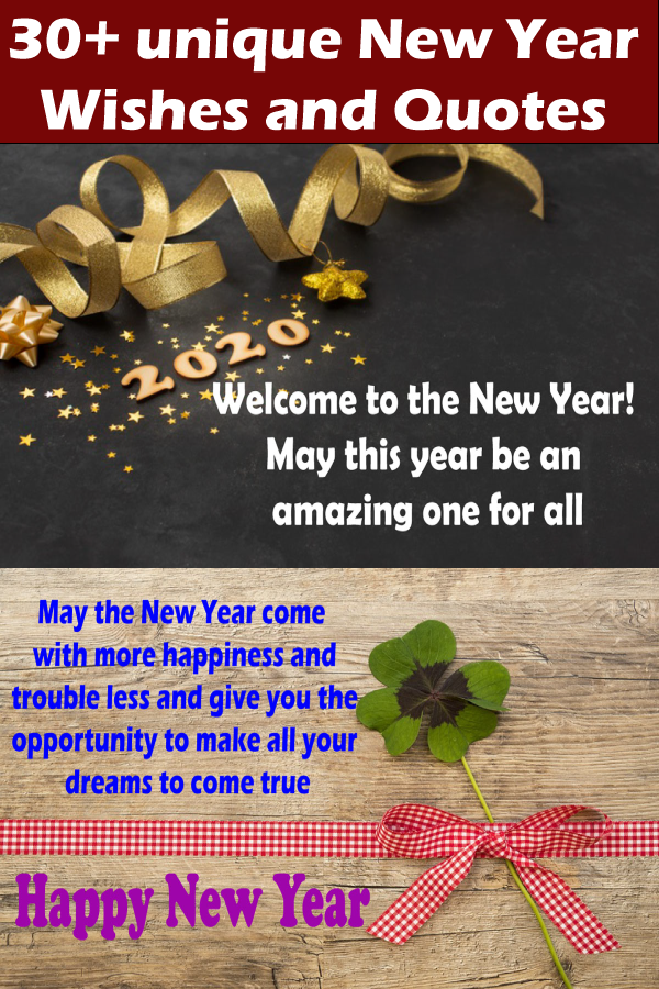 Best New Year Wishes and quotes use for a fresh start of a
