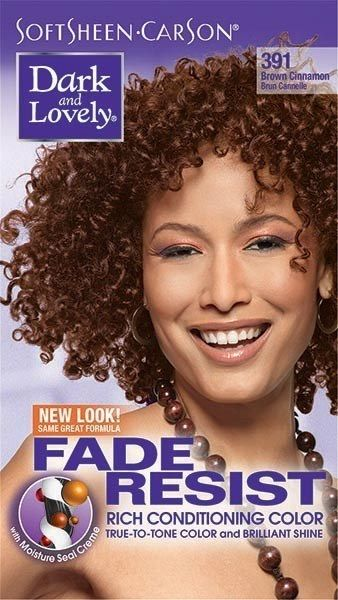 Dark and Lovely Fade Resist Hair Color For Black Women In Brown ...