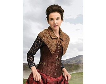 Outlander the Series: The Hunt Enthralling Capelet (Crochet)