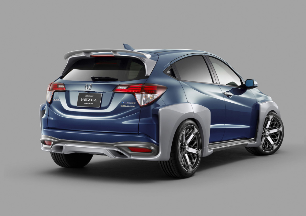 2014 Honda Vezel Mugen Concept Image Photo 3 Of 4 Honda Honda Hrv Honda Cars
