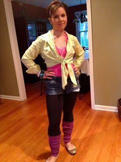 DIY 80u0026#39;s Party Outfit #DIYlegwarmers | DIY Ideas | Pinterest | 80 S 80s Party And Costumes