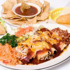 Jessica Alba's Chicken Enchiladas
