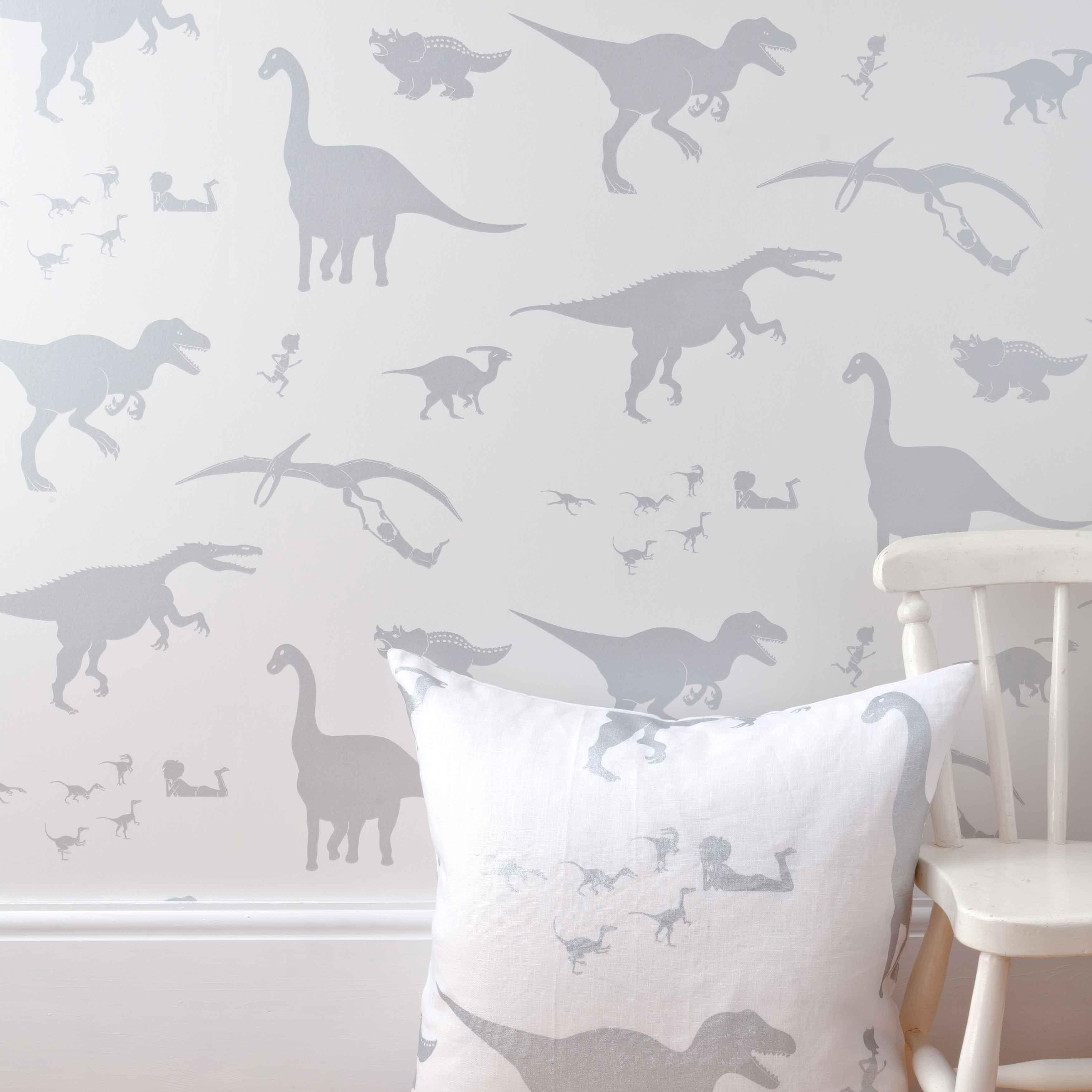 To decorate d 39 ya think e saurus boys dinosaur wallpaper paper boy wallpapers for the - Paperboy dinosaur wallpaper ...