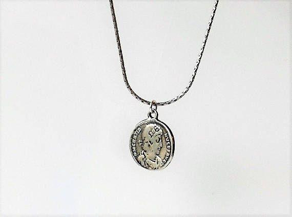 Men necklace men silver necklace men pendant necklace silver coin men necklace men silver necklace men pendant necklace silver coin pendant men aloadofball Gallery