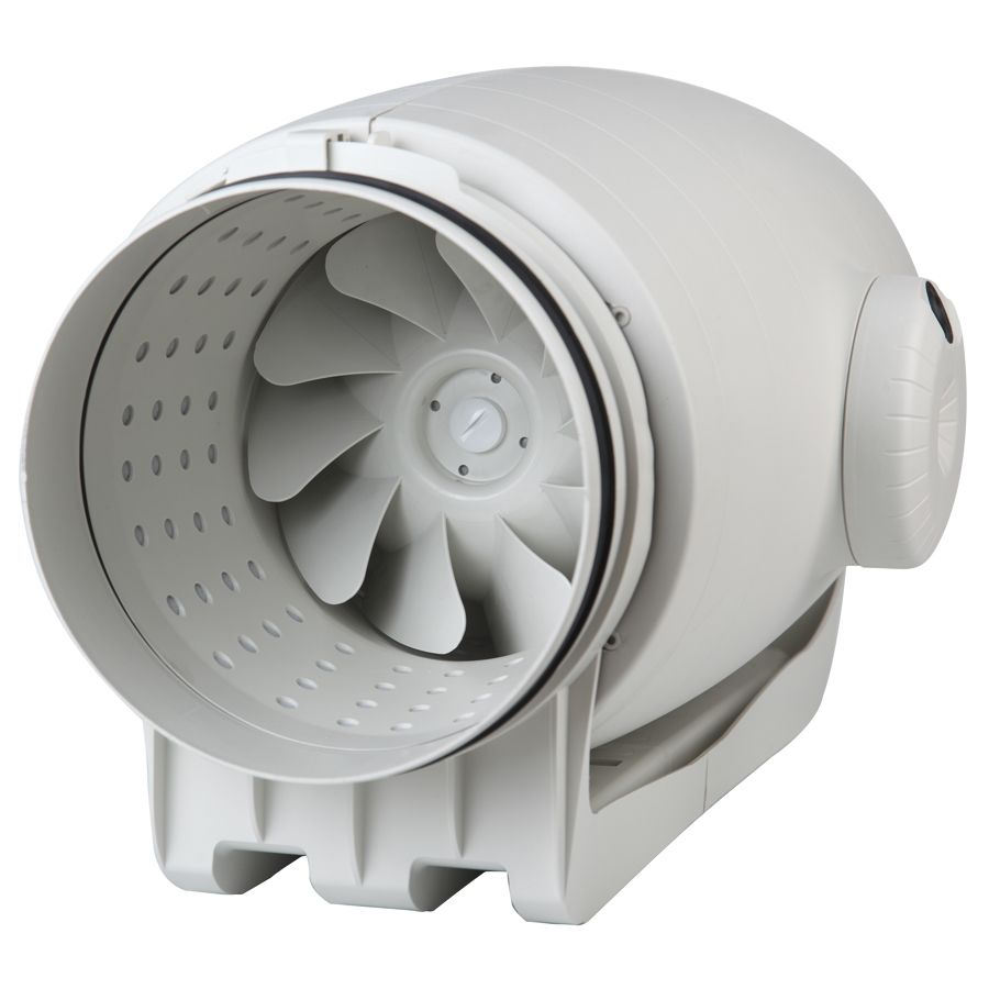 In Line Circular Duct Fans Extractor Fans Fan Decorative Vent Cover