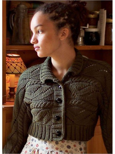 Cropped Cardigan Knitting Patterns Cardigan Knitting Patterns