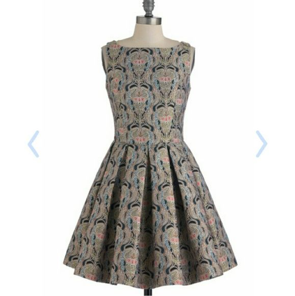 ISO Modcloth BB Dakota Brocade Dress Desperately in search of this BB Dakota dress originally sold on Modcloth called Classic Stunner Dress in Brocade in a size 10 or even a size 12  Please help me find this gorgeous beauty ?????? ModCloth Dresses