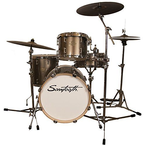 Sawtooth STCOM4PC18C Command Series 4Piece Drum Set Shell Pack Champagne >>> You can get additional details at the image link.Note:It is affiliate link to Amazon.
