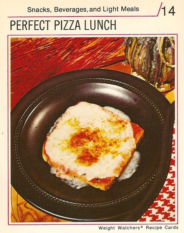 This is what diet recipes were like in the 1970s perfect pizza food forumfinder Gallery