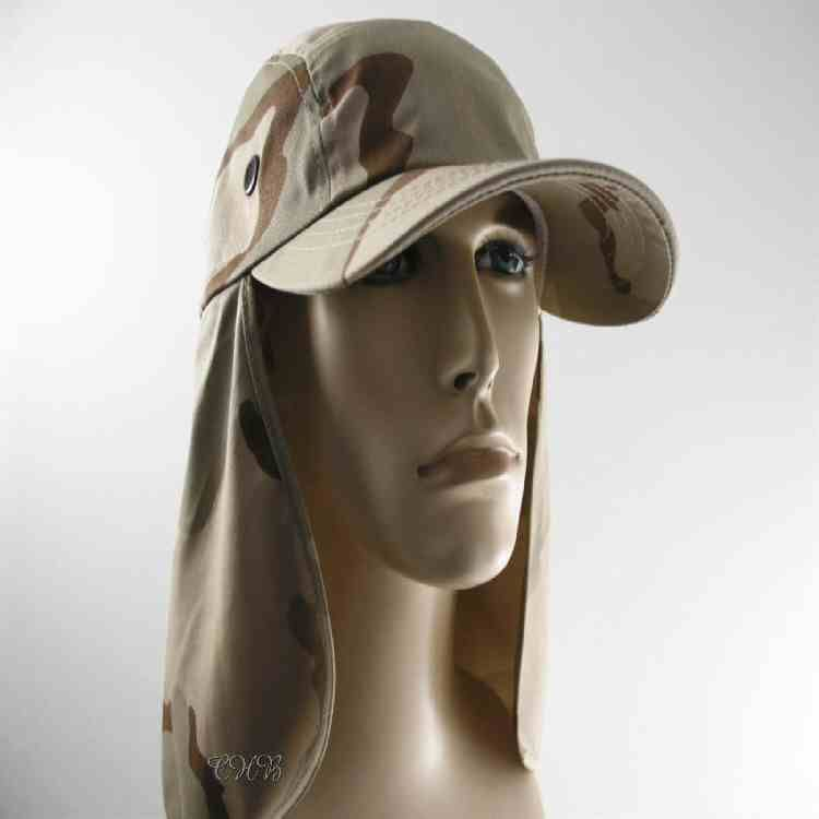 704729c8f New Tri-desert camo sun hat with long neck flap protection. This hat ...