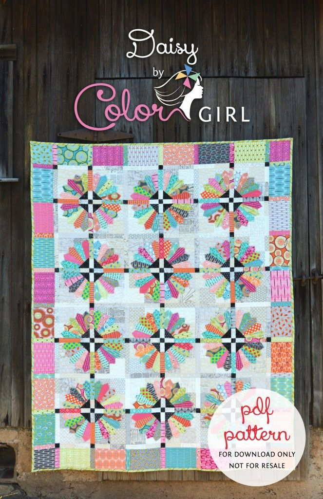 Daisy Quilt pattern by Color Girl, dresden plate quilt | Quilt ... : daisy quilts - Adamdwight.com