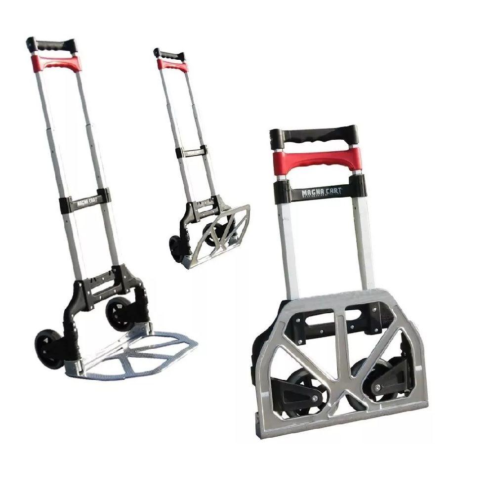 diablito carrito de carga magna cart aluminio plegable 68 kg en mercado libre