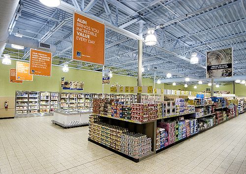 Inside Aldi Foods Store Food Store Aldi Grocery Store