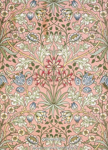 Victorian 19th Century William Morris Wallpaper