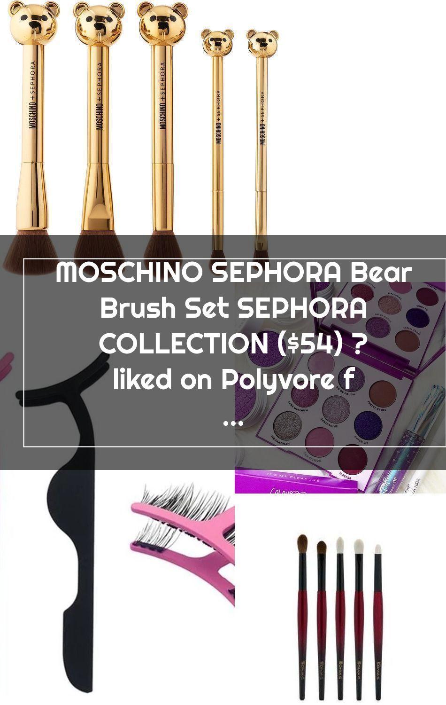 MOSCHINO SEPHORA Bear Brush Set SEPHORA COLLECTION (54