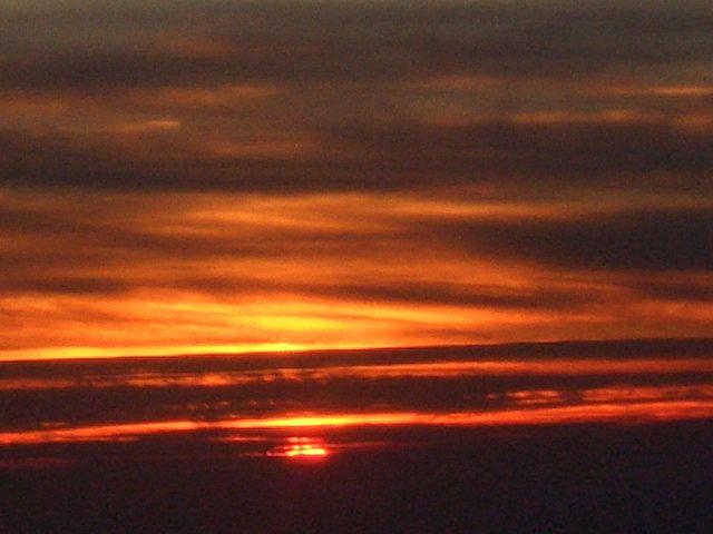 Sunset @ highway one, California