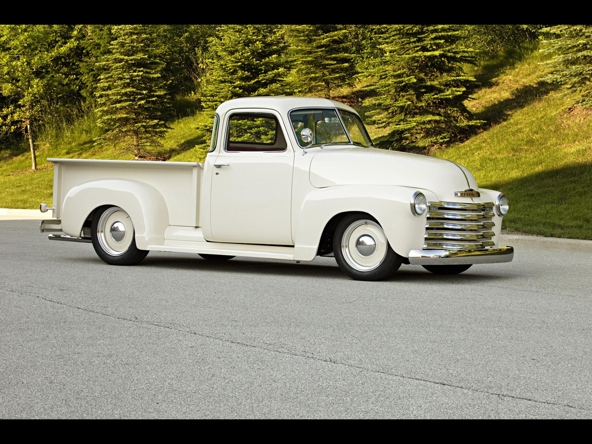 1949 Chevrolet Pickup By Roadster Shop Front And Side 1920x1440 Wallpaper Chevrolet Pickup Roadster Shop Vintage Pickup Trucks