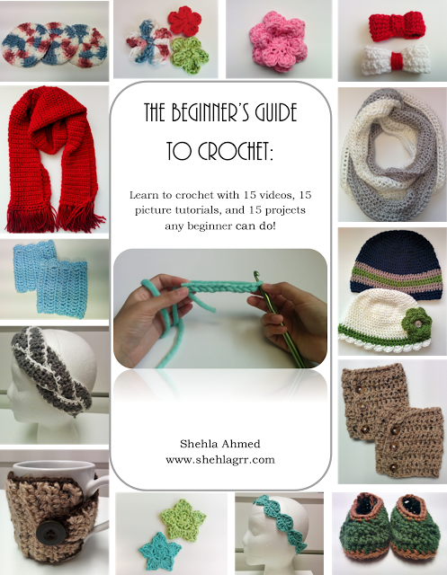 Beginners\' Crochet Series | ShehlaGrr: Beginners\' Crochet Series ...