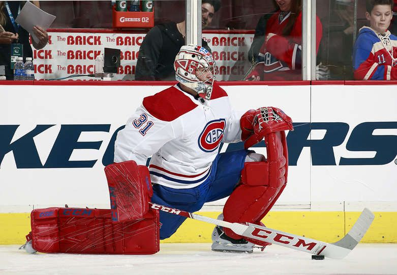 Vancouver Bc November 17 Carey Price 31 Of The Montreal