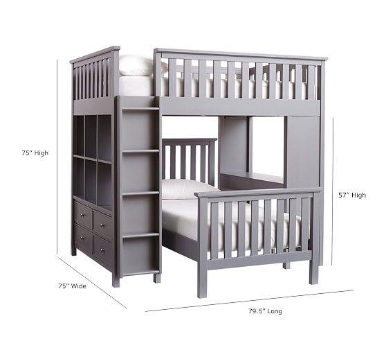 Best Elliott Full Loft System Twin Bed Set Twin Bed Sets 400 x 300