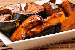 Easy Roasted Buttercup Squash With Balsamic Glaze Recipe With Images Squash Recipes Buttercup Squash Easy Meals
