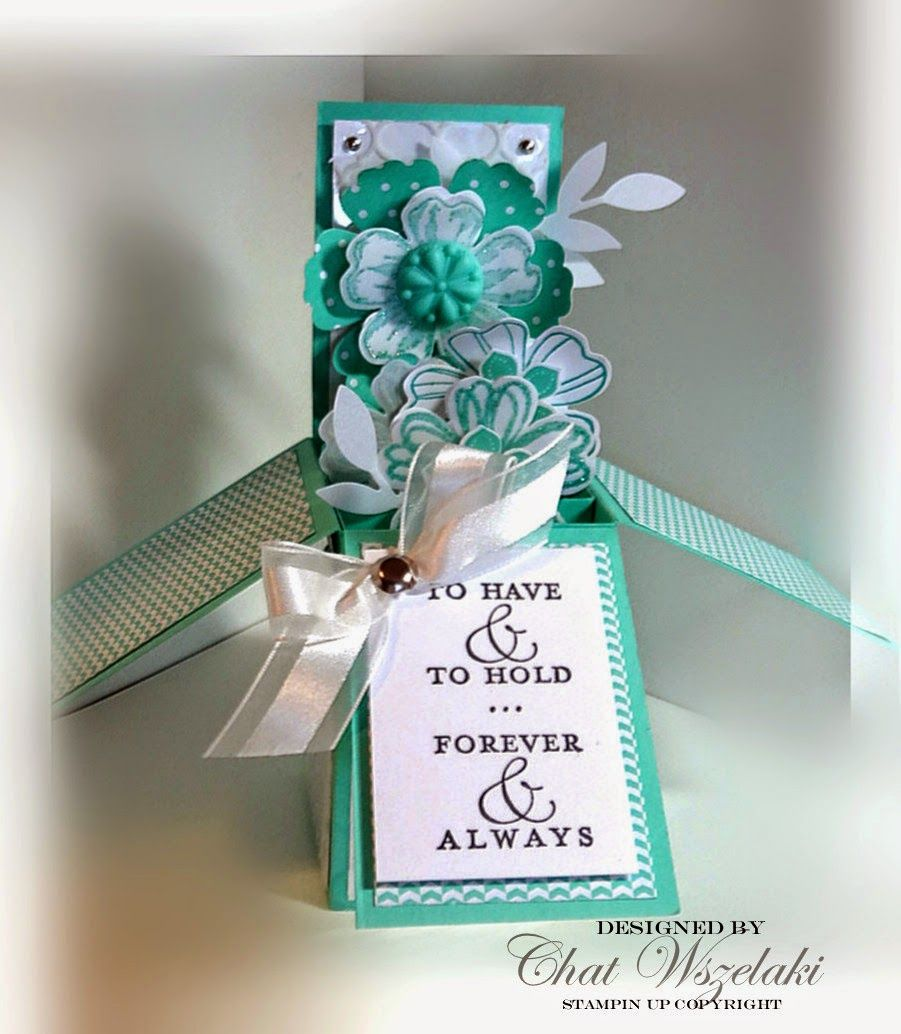 To have and to hold explosion boxes pinterest box cards
