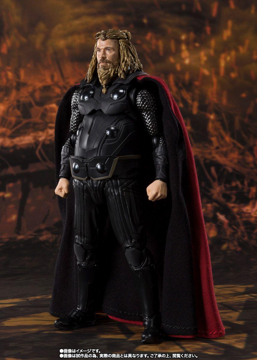 Tamashii Nations S.H Figuarts Thor /& Thunderbold Effect Set Thor Ragnarok Act