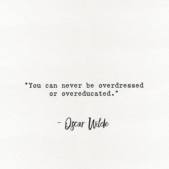'Oscar Wilde quote 4' by Epicpaper  store