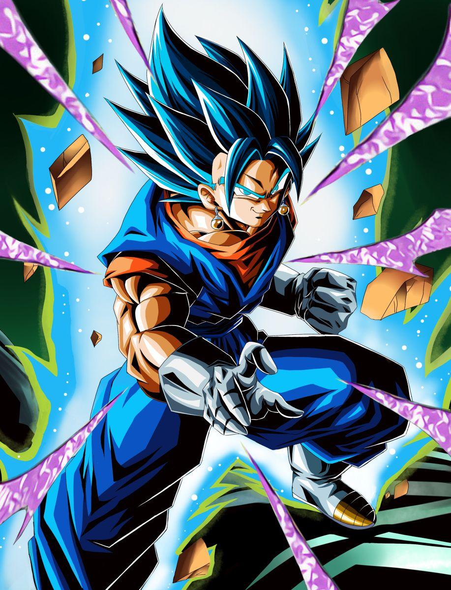 Vegito Ssjblue In 2020 Dragon Ball Wallpapers Anime Dragon Ball Dragon Ball Z