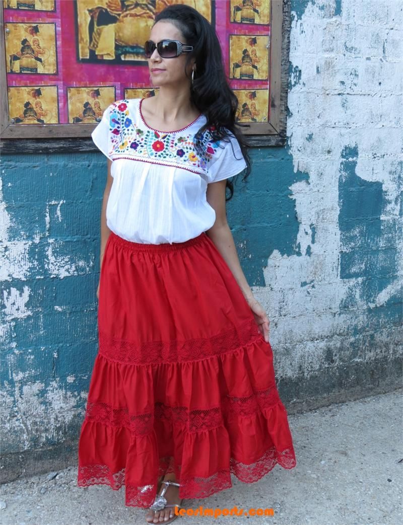 Mexican style house dresses