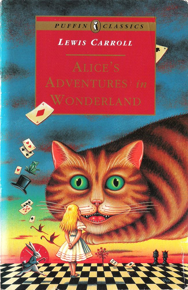 James Marsh Front Cover For Lewis Carroll S Alice S Adventures In