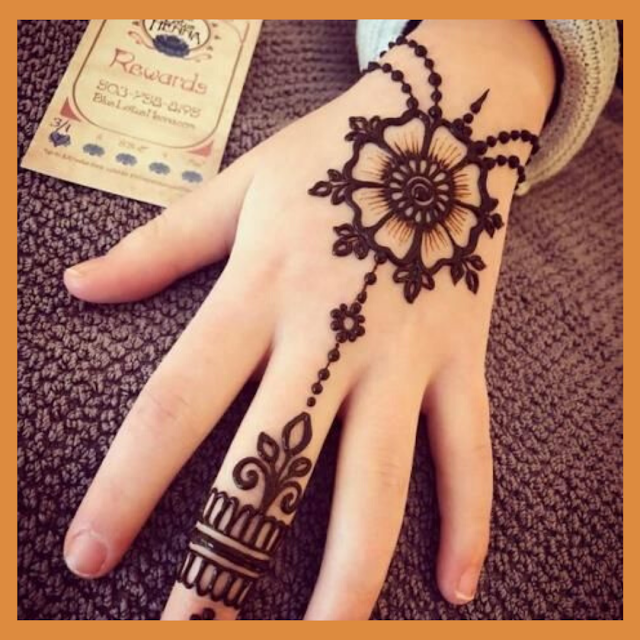 best easy mehndi designs for beginners