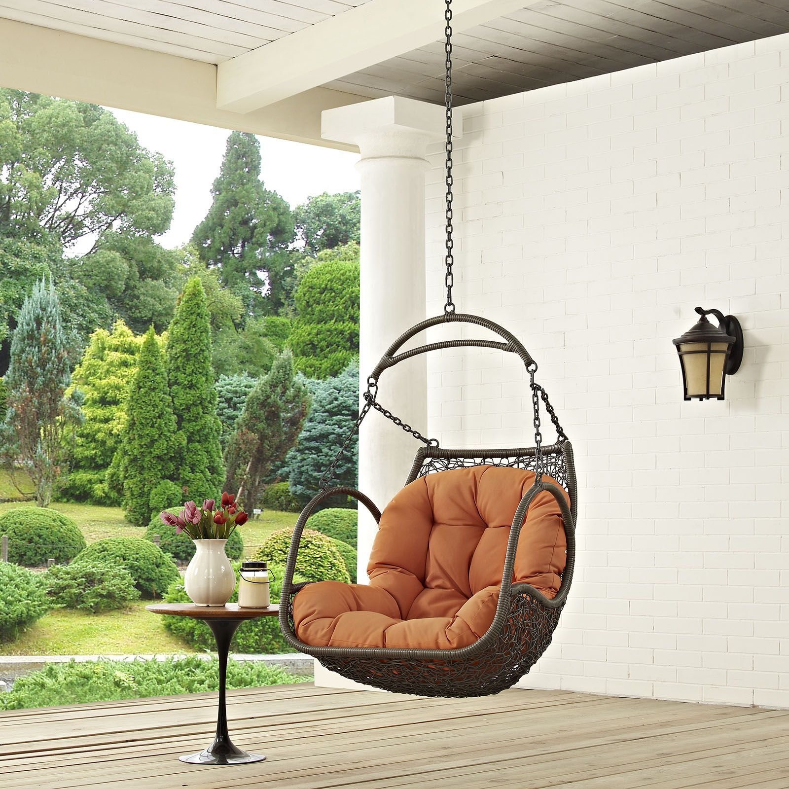 Arbor outdoor patio wood swing chair arbor swing swing chairs and