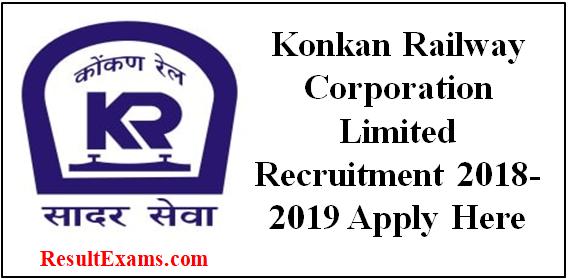 Image result for konkan railway recruitment 2018