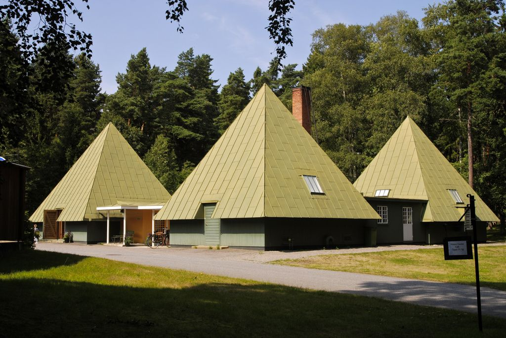 Woodland Cemetery, Stockholm Visitors' Center Gunnar Asplund