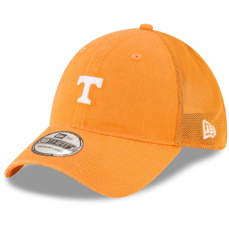 uk availability 97423 f1296 Tennessee Volunteers New Era Team Precision 39THIRTY Flex Hat – Tennessee  Orange
