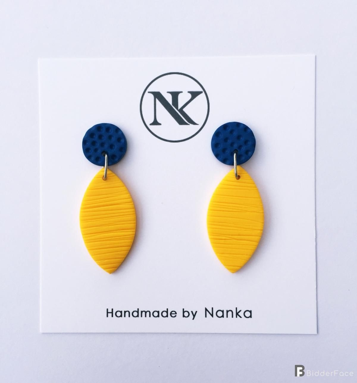 9296a7352 Handmade Polymer Clay Earrings - Minimalist Collection Lightweight earrings  made of polymer clay material. All metal parts are made of stainless steel.