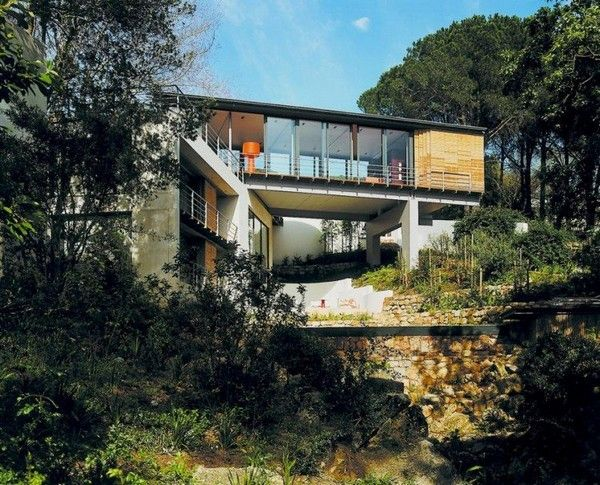 Bridge House By Van Der Merwe Miszewski Architects Architecture Capetown Architecture Forest House House Design