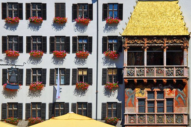 The Golden Roof & The Golden Roof | Austria | Pinterest | Innsbruck Austria and ... memphite.com