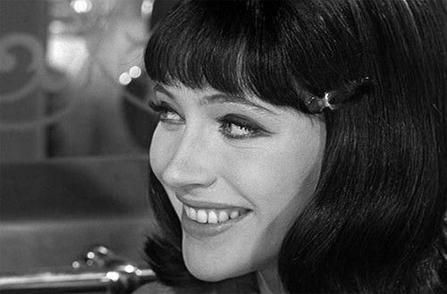 actress Anna Karina